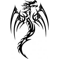 Drachen Aufkleber 32
