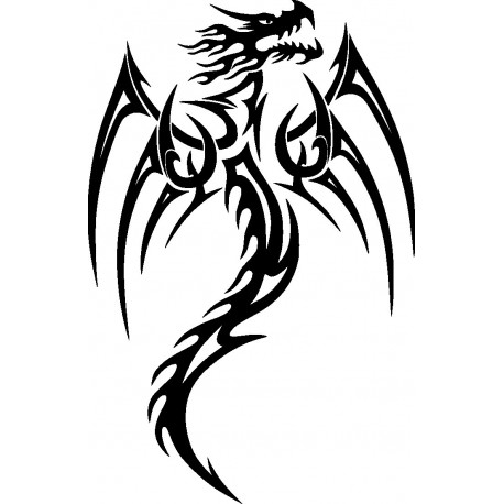 Aufkleber: Drachen Aufkleber 32