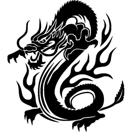 Aufkleber: Drachen Aufkleber 35