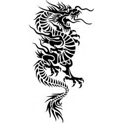 Drachen Aufkleber 36