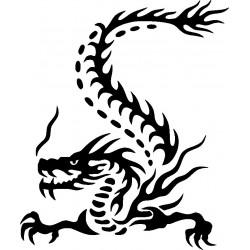 Drachen Aufkleber 37