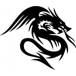 aufkleber autoaufkleber fl�gel, wolf, hund, babyaufkleber Drachen Wandtattoo 3