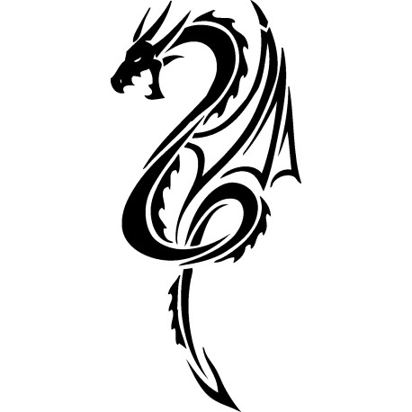 Aufkleber: Drachen Aufkleber 42