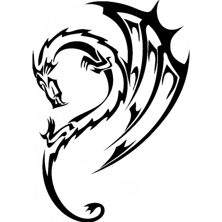 Aufkleber: Drachen Aufkleber 43