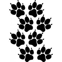 aufkleber autoaufkleber fl�gel, wolf, hund, babyaufkleber Rabatt - Aktion Blumen