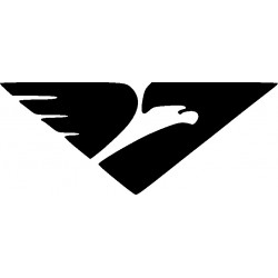 aufkleber autoaufkleber fl�gel, wolf, hund, babyaufkleber Autoaufkleber Adler Decor 23
