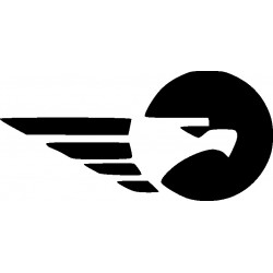 aufkleber autoaufkleber fl�gel, wolf, hund, babyaufkleber Autoaufkleber Adler Decor 22