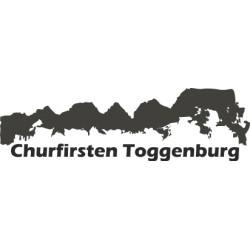 Autoaufkleber: Aufkleber Churfirsten 2 Toggenburg Aufkleber Churfirsten 2