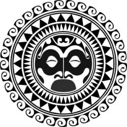 Maori - Tattoo 2 Heckscheibenaufkleber