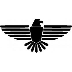 aufkleber autoaufkleber fl�gel, wolf, hund, babyaufkleber Autoaufkleber Adler Decor 21