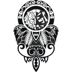 Autoaufkleber: Maori - Tattoo 4 Maori - Tattoo 4