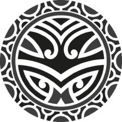 Maori - Tattoo 6 Aufkleber