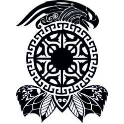 Maori - Tattoo 10 Aufkleber