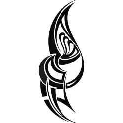 Autoaufkleber: Maori Tattoo auto tattoo aufkleber