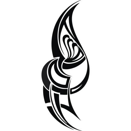 Aufkleber: Maori Tattoo