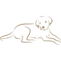 Autoaufkleber: Labrador Aufkleber 2 Labrador Aufkleber 2