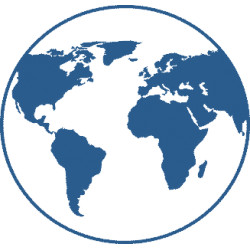 Weltkarte Globus