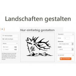Autoaufkleber: Landschaften Schweiz selber gestalten Landschaften Schweiz selber gestalten