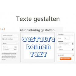 Autoaufkleber: Wandtexte und Zitate Wandtexte und Zitate