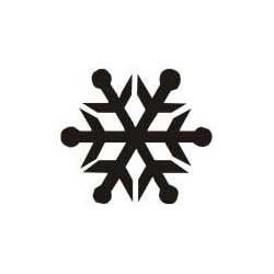 Autoaufkleber: Schneeflocke Aufkleber 1 Schneeflocke Aufkleber 1