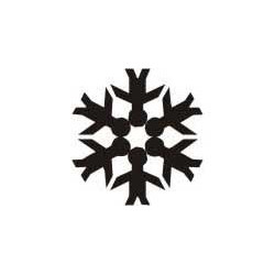 Autoaufkleber: Schneeflocke Aufkleber 3 Schneeflocke Aufkleber 1