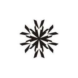 Autoaufkleber: Schneeflocke Aufkleber 8 Schneeflocke Aufkleber 3