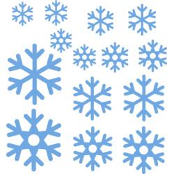 Autoaufkleber: Schneeflocke selber gestalten Schneeflocke Aufkleber 9