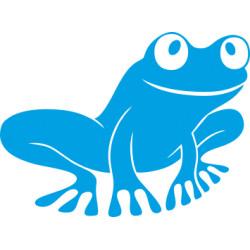 Autoaufkleber: Frosch 2 Aufkleber Frosch Aufkleber