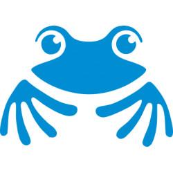 Autoaufkleber: Frosch 3 Aufkleber Frosch 2 Aufkleber