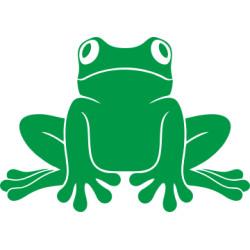 Autoaufkleber: Frosch 4 Aufkleber Frosch 4 Aufkleber