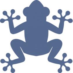 Autoaufkleber: Frosch 5 Aufkleber Frosch 4 Aufkleber