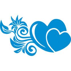 Autoaufkleber: Hochzeitsaufkleber Herz 36 Hochzeitsaufkleber Herz 10
