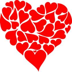 Autoaufkleber: Herz Aufkleber Herz Hochzeitsaufkleber Herz 10