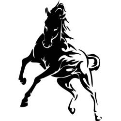 Autoaufkleber: Aufkleber Pferd 45 Aufkleber Pferd 44