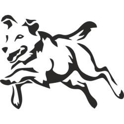 Autoaufkleber: Hund 35 - Hundesport Hund 35