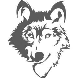 Autoaufkleber: Wolf 19 Hunde Wolf 19 Hunde