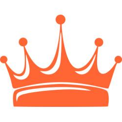 Autoaufkleber: Aufkleber Krone 3 Aufkleber Krone 2