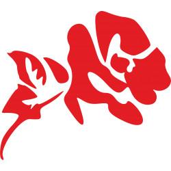 Autoaufkleber: Wandaufkleber Blume 4 Wandaufkleber Blume 4