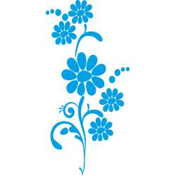Autoaufkleber: Blumen Aufkleber 26 Aufkleber, Autoaufkleber, Heckscheibenaufkleber