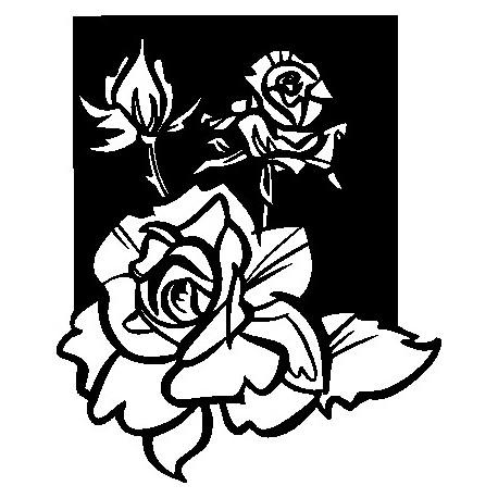 Aufkleber: Wandblume 5