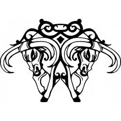 Autoaufkleber: Wandblumen Set to make your own Wandblumen Set to make your own