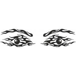 Auge - Aufkleber 216