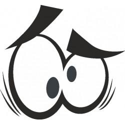 Auge - Aufkleber 6