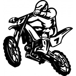Autoaufkleber: Motorcycle sticker Motorcycle sticker