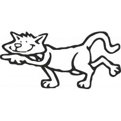 aufkleber autoaufkleber fl�gel, wolf, hund, babyaufkleber MOGSLI 01