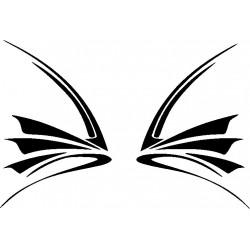 Autoaufkleber: Flügel 5 Cardesign, Autoaufkleber