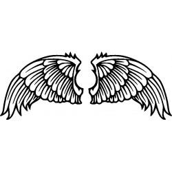 Autoaufkleber: Flügelaufkleber 7 Cardesign, Autoaufkleber