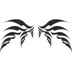 Autoaufkleber: Flügel 10 Cardesign, Autoaufkleber