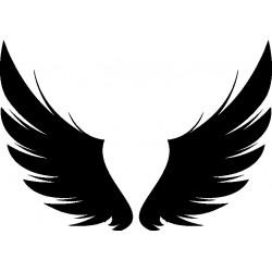 Autoaufkleber: Flügel Aufkleber 11 Cardesign, Autoaufkleber