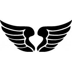 Autoaufkleber: Flügel Aufkleber 16 Cardesign, Autoaufkleber